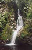 Dorothy Falls, Lake Kaniere, Scenic drive near Hokitika